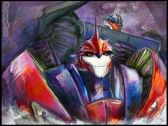 Knock Out + Breakdown | Transformers Prime by sniperdusk