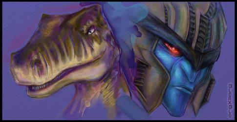 Dinobot | TF Beast Wars by sniperdusk