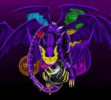 Lucemon Satan Mode by bloodclancat