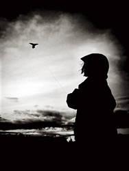 bird on a string by iamkatia