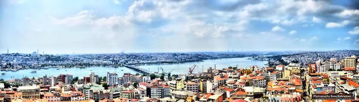 Eminonu Halic Panorama by khrmnens