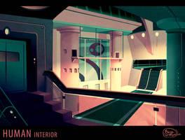 AoS: Human interior environment by dizzyclown