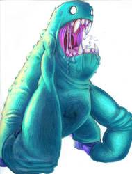 Monster by dizzyclown
