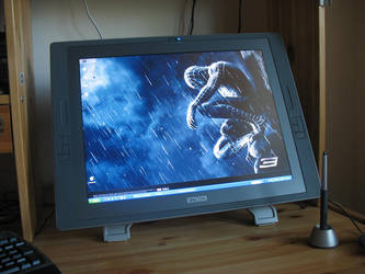 New Wacom Cintiq 21UX by dizzyclown