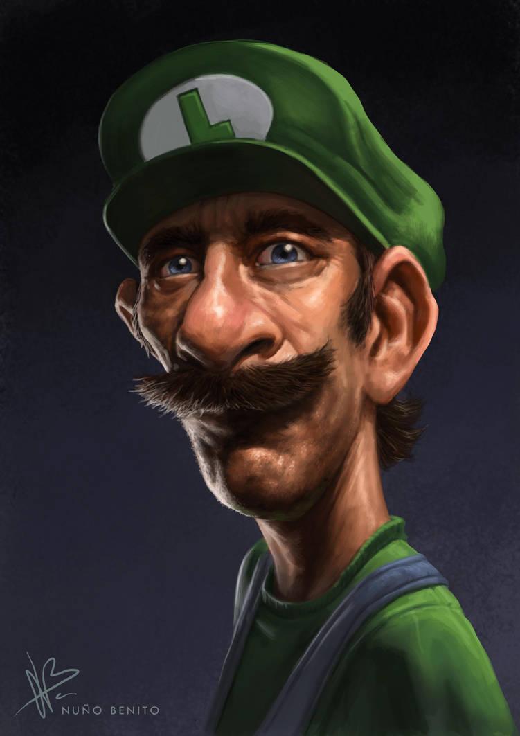 Luigi by mawelman