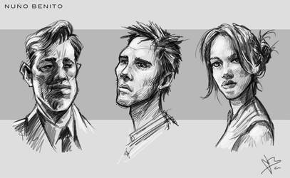 Sketches 02 by mawelman