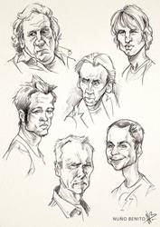 Celeb sketches 01 by mawelman
