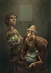 Ferrer y Emil by mawelman