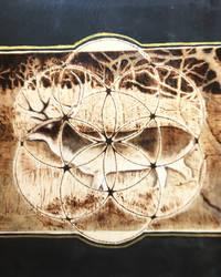 Deer Seed of Life by SuMeiMei