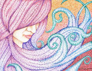 Pointillism by Leah-Thomas