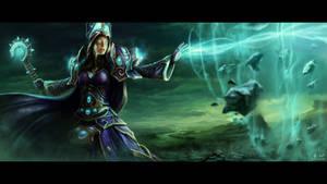 World of Warcraft fanart by ZsoltKosa