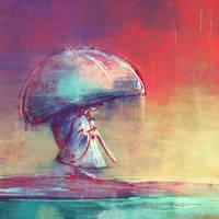 Little rain by ZsoltKosa