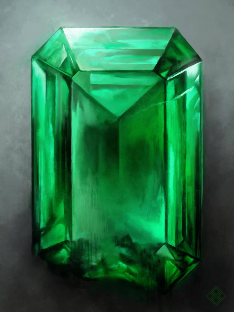 Infinity Emerald by ZsoltKosa
