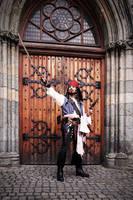 Captain Jack Sparrow by kakeboksen