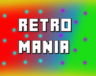 [OFFICAL] Retro Mania Logo by MarioMario2016