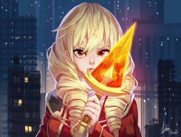 Erika [Commission] by Rosuke97