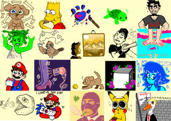 My recent Drawception games by CipherTeya