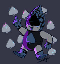 lancer Deltarune by CipherTeya