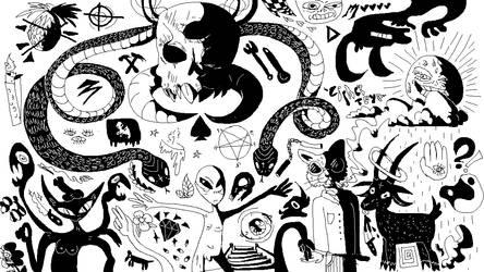 heaven and hell by CipherTeya