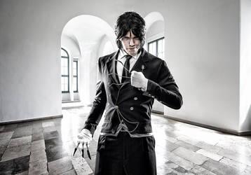 Sebastian Michaelis Cosplay by ertunc