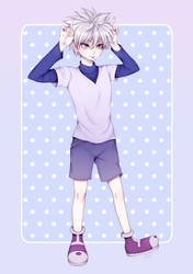 Killua Blep (+SPEEDPAINT!) by GomiCake