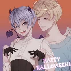 Happy Halloween! 2018 by GomiCake
