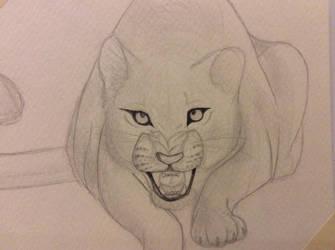 Big cat by SaberTooth34