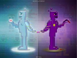 Scott and Purple by TheGoldenAquarius