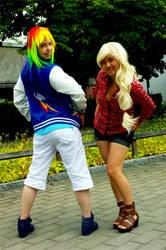 Narcon 2013: MLP cosplay by RenderRose