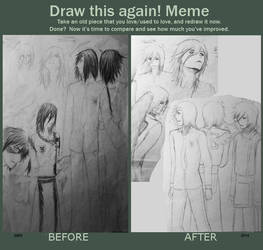 Meme: Before And After by RenderRose