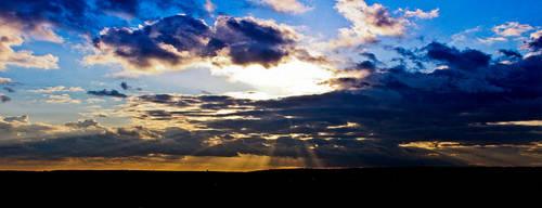 Sunset by woodsman91