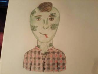 Lizard Guy by gummybear818