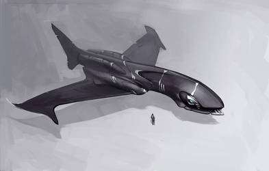 Shark by vlda