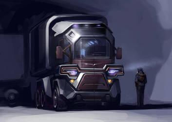 Truck study by vlda
