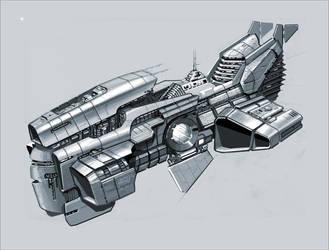 Battle Cruiser by vlda