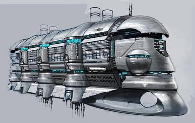 intergalactic Pleasure Cruiser by vlda