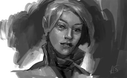 Portrait by vlda
