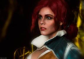 Triss - the Witcher by fenixfatalist