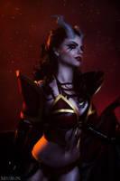 Queen of Pain by fenixfatalist