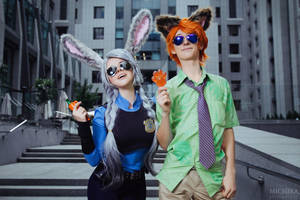 Nick and Judy by fenixfatalist