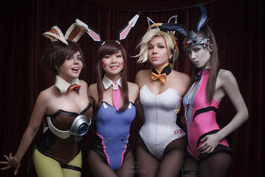 Overwatch Bunny Team by fenixfatalist