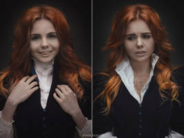 Triss from books by fenixfatalist