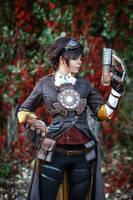 Overwatch - Steampunk Tracer by fenixfatalist