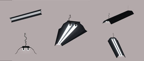 W.I.P. neon light prop by kaos88888888