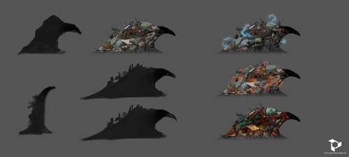 Taiji - Chaos - Character design by N-A-R-I