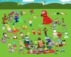 The Animalville Community Picnic by BrendanDoesArt