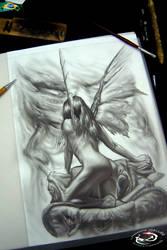Dark Fairy by DallierTattoo