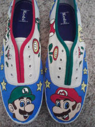 Mario Shoes by BookWorm14