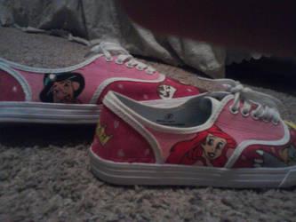 Disney Princess Shoes 2 by BookWorm14