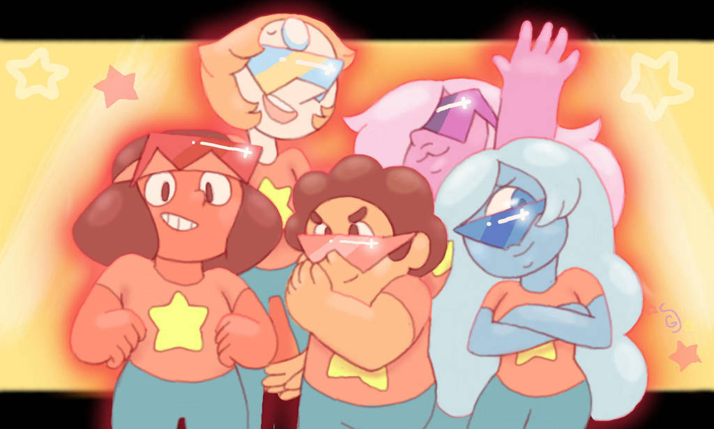 Aah thank you guys so much for over 600 watchers! You're all awesome! Please accept this humble doodle, in celebration I'm holding an ask! Please feel free to ask any of these guys, Rose quartz, Ga...